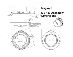 MV-180 Dimensions