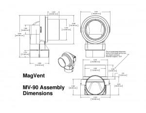MV-90 Dimensions